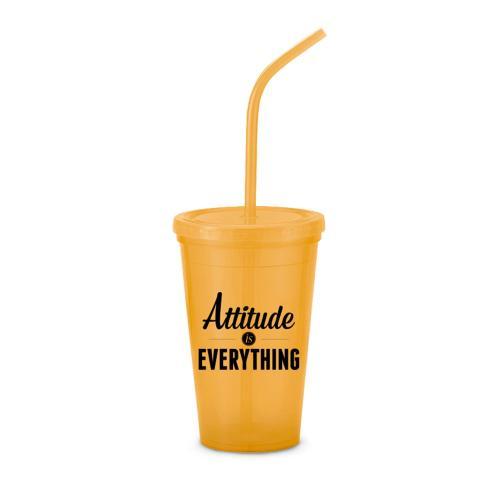 Attitude Is Everything 24oz Value Tumbler