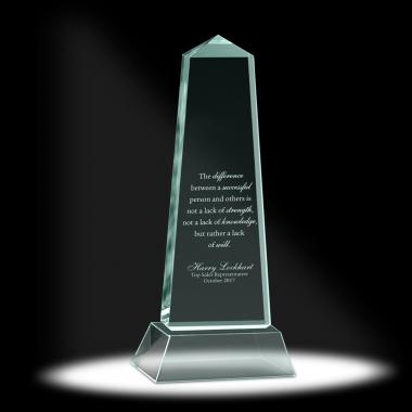 Luminous Pillar Acrylic Award