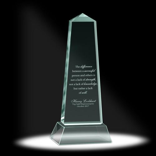 Luminous Pillar Acrylic Award