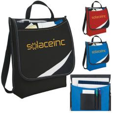 Messenger Bags - Atchison<sup>®</sup> - Logic Messenger is made of 600 denier polyester, non-woven polypropylene