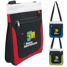 Messenger Bags - Atchison<sup>®</sup> - Expandable Carry-All with zippered main compartment