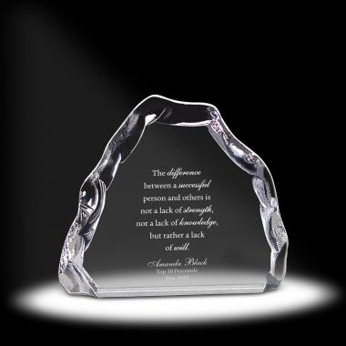 Polar Acrylic Award