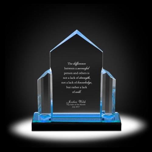 Mount Inspire Acrylic Award
