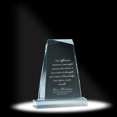 Spinoza Acrylic Award