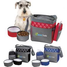 Bowls - SpectraColor<sup>®</sup> II - Pet accessory bag. Includes 2 collapsible bowls for food and water