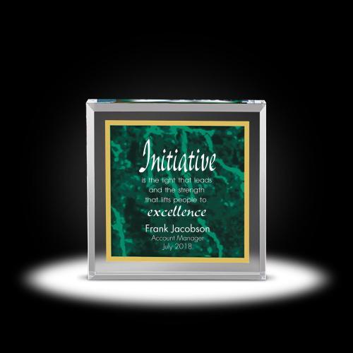 Plato Acrylic Award