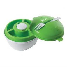 Bowls - Salad bowl with snap closure cover holds up to 4 cups of salad