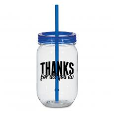 Thanks for All You Do 25oz Mason Jar