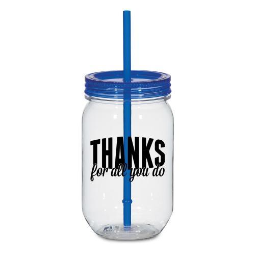 Thanks for All You Do 25oz Mason Jar