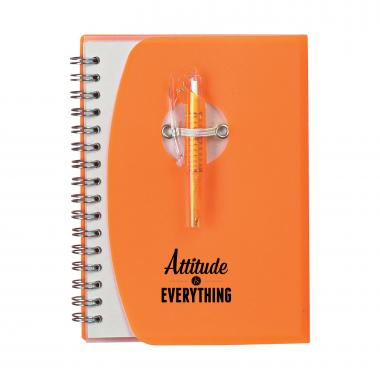 Attitude Is Everything Notebook and Pen