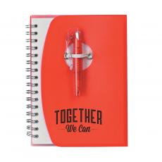 Pens & Pen Cups - Together We Can Notebook and Pen
