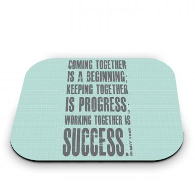 Working Together Mouse Pad