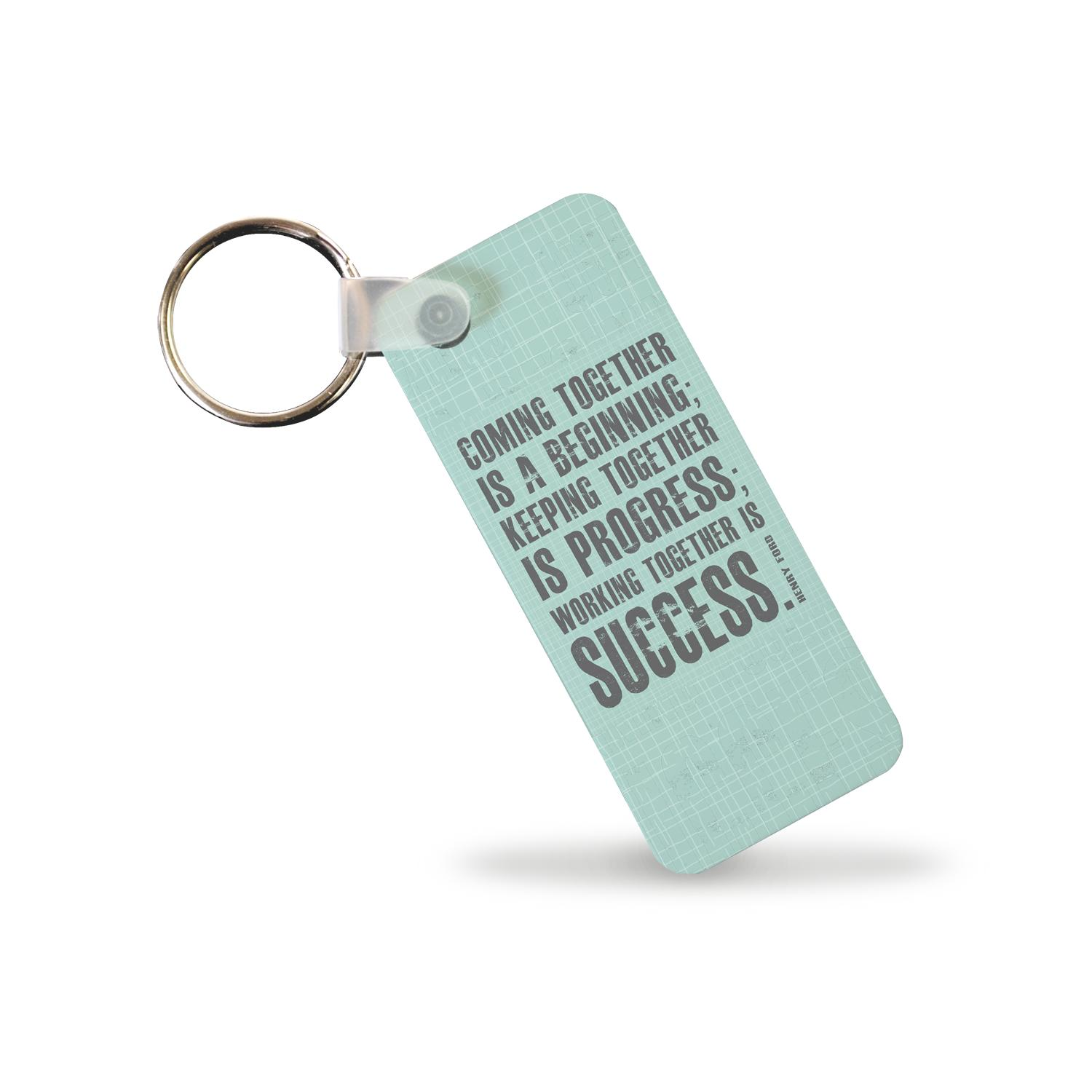 Working Together Keychain