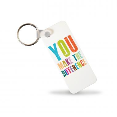 You Make The Difference Keychain