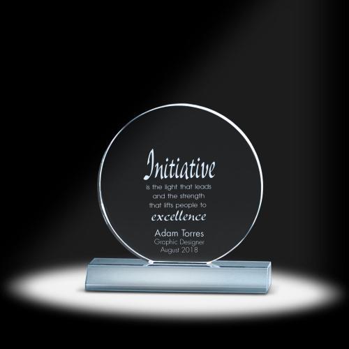Rond Acrylic Award