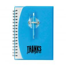 Teacher Gifts - Thanks for All You Do Notebook and Pen