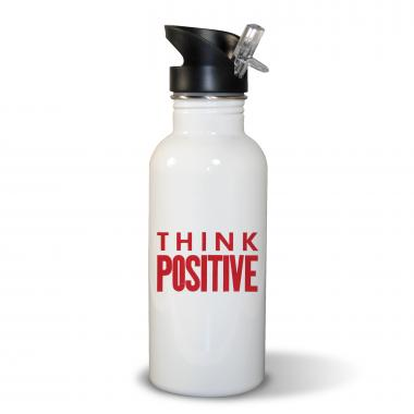 Think Positive 20oz Water Bottle