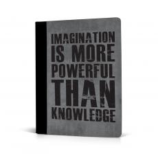 Imagination Is More Jr. Padfolio