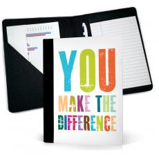 Thank You Gifts - Thank You For Making A Difference Jr. Padfolio
