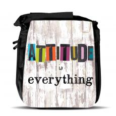 New Themes - Attitude Is Everything Shoulder Bag
