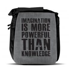 Imagination Is More Shoulder Bag