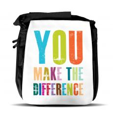You Make The Difference Shoulder Bag