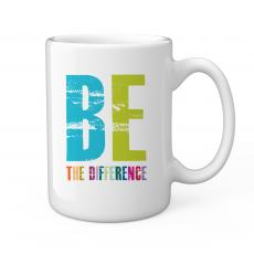 Ceramic Mugs - Be The Difference 15oz Ceramic Mug