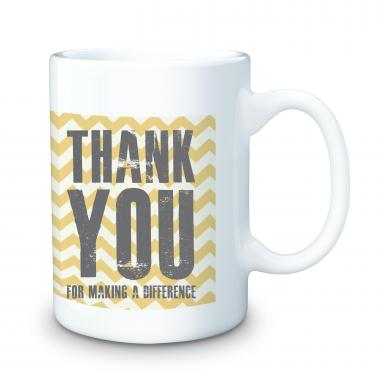 Thank You For Making A Difference 15oz Ceramic Mug