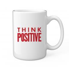 Think Positive 15oz Ceramic Mug