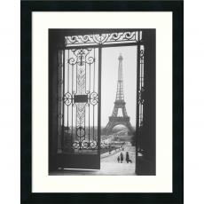 Black & White - Gall The Eiffel Tower From The Trocadero, 1925 Office Art