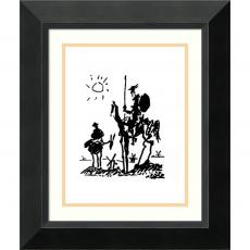 All Motivational Posters - Pablo Picasso Don Quixote Office Art