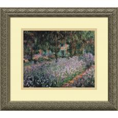 All Motivational Posters - Claude Monet Jardin a Giverny (Garden at Giverny) Office Art