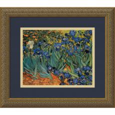 Vincent van Gogh - Vincent van Gogh Irises In The Garden Office Art