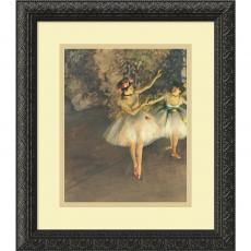 People - Edgar Degas Two Dancers on Stage c. 1874 Office Art