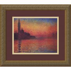 Claude Monet - Claude Monet Dusk, Sunset in Venice, 1908 Office Art