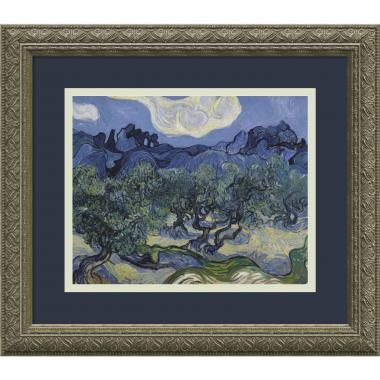 Vincent van Gogh Olive Trees with the Alpilles in the Background, Saint-Remy 1889 Office Art