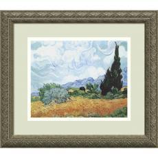 Fine Art - Vincent van Gogh Yellow Wheat and Cypresses, c. 1889 Office Art