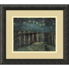 All Motivational Posters - Vincent van Gogh Starlight Over the Rhone Office Art