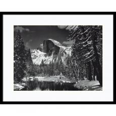 Ansel Adams Half Dome, Winter - Yosemite National Park, 1938 Office Art