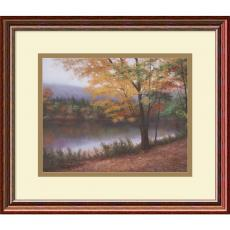 Diane Romanello Golden Autumn Office Art