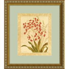 Flowers & Plants - Gloria Eriksen Red Begonias Office Art