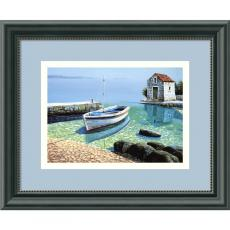 Beach & Ocean - Frane Mlinar Morning Reflections Office Art