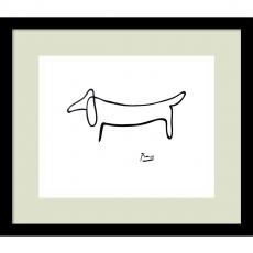 Fine Art - Pablo Picasso Le Chien (The Dog) Office Art