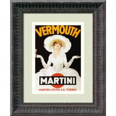 All Motivational Posters - Marcello Dudovich Vermouth Martini (ca. 1918) Office Art