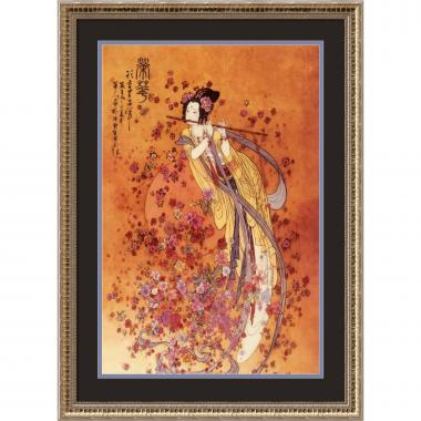 Chinese Goddess of Prosperity Office Art