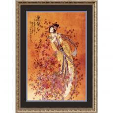 Fine Art - Chinese Goddess of Prosperity Office Art