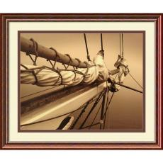 Closeout and Sale Center - Frederick J. LeBlanc Breaking the Mist II Office Art