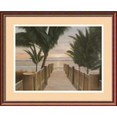 Diane Romanello Palm Promenade Office Art