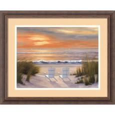 Diane Romanello - Diane Romanello Paradise Sunset Office Art