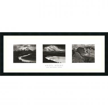 Ansel Adams Our National Parks (Triptych) Office Art